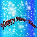 Dekoracyjni nowy rok tło. Zdjęcia Stock