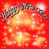 Dekoracyjni nowy rok tło. Obraz Stock