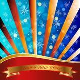 Dekoracyjni nowy rok tło. Zdjęcia Royalty Free