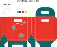 dekoracyjni pudełkowaci boże narodzenia Obraz Royalty Free