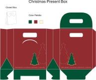 dekoracyjni pudełkowaci boże narodzenia Zdjęcia Royalty Free