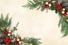 dekoracyjni rabatowi boże narodzenia zdjęcie royalty free
