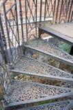 dekoracyjni schody. Obrazy Stock