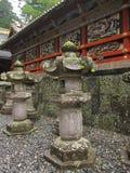 Dekoracyjni szczegóły tradycyjna Japońska świątynia i świątynia zdjęcia stock