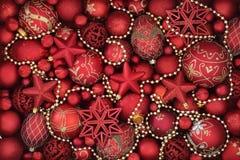 dekoracyjni tło boże narodzenia Zdjęcie Stock