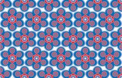 dekoracyjni tło kwiaty Obraz Stock