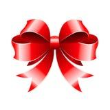 Dekoracyjny łęk dla nowego roku ` s prezenta Zdjęcia Stock