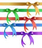 Dekoracyjny łęk w różnorodnych kolorach Fotografia Royalty Free