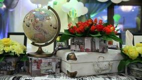 Dekoracyjny świąteczny stół zdjęcie wideo