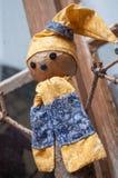 dekoracyjny bałwan dla boże narodzenie dekoraci przy wi Zdjęcie Royalty Free