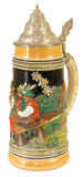 Dekoracyjny Bawarski Piwny Stein II zdjęcia stock