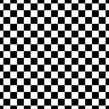 Dekoracyjny Bezszwowy Kwiecisty diagonalny Geometryczny Czarny & Biały Deseniowy tło Skomplikowany, materiał ilustracja wektor
