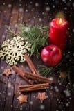 dekoracyjny Boże Narodzenie skład Zdjęcie Royalty Free