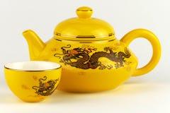Dekoracyjny Chiński teapot zdjęcie stock