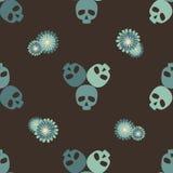 Dekoracyjny czaszka wzór Zdjęcia Stock