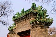 dekoracyjny dach Fotografia Stock
