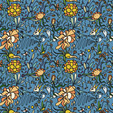 dekoracyjny deseniowy bezszwowy Zdjęcie Royalty Free