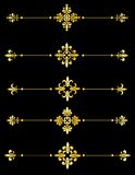dekoracyjny divider Zdjęcia Stock