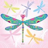 dekoracyjny dragonfly Zdjęcie Stock