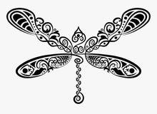 dekoracyjny dragonfly Zdjęcie Royalty Free