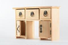 Dekoracyjny drewniany biuro zdjęcie stock