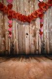 Dekoracyjny Drewniany tło obrazy royalty free