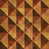 Dekoracyjny drewniany wzór dla bezszwowego tła Obraz Stock