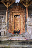 Dekoracyjny drzwi Pura Kehen świątynia w Bali Obrazy Royalty Free
