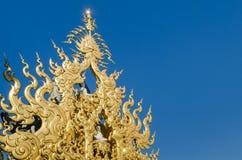 Dekoracyjny element w Tajlandzkiej świątyni Zdjęcia Stock