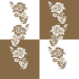 Dekoracyjny elementu wzoru projekt Obrazy Royalty Free