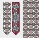 Dekoracyjny etniczny Paisley bookmark dla drukować Fotografia Stock