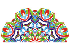 dekoracyjny fan Obrazy Stock