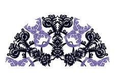 Dekoracyjny fan Obrazy Royalty Free