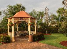 Gazebo fotografia royalty free