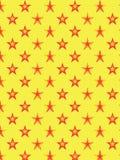Dekoracyjny gwiazdowy wzór Fotografia Royalty Free