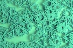 Dekoracyjny, ilustracje CGI geometryczny, wi?zka tr?jbok & gwiazda widok od wierzcho?ka, dla projekt tekstury t?a 3 d czyni? ilustracja wektor