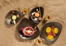 dekoracyjny jedzenie Zdjęcia Royalty Free