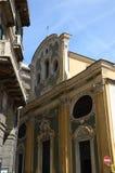 Dekoracyjny kościół w Savona, Liguria, Włochy Obraz Stock
