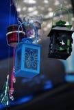 Dekoracyjny kolorowy świeczka lampion Fotografia Stock