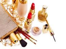 dekoracyjny kosmetyka makeup Fotografia Stock