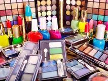 dekoracyjny kosmetyka makeup Obraz Stock