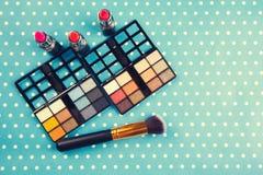 dekoracyjny kosmetyka set Fotografia Stock