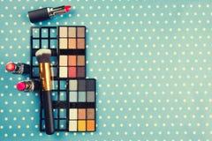 dekoracyjny kosmetyka set Zdjęcie Stock