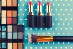 dekoracyjny kosmetyka set Obraz Stock