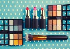 dekoracyjny kosmetyka set Zdjęcia Stock