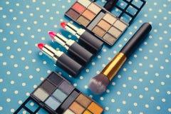 dekoracyjny kosmetyka set Obrazy Royalty Free