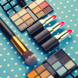 dekoracyjny kosmetyka set Obrazy Stock