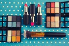 dekoracyjny kosmetyka set Zdjęcie Royalty Free