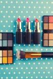 dekoracyjny kosmetyka set Fotografia Royalty Free