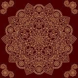 Dekoracyjny kwiecisty wzór Fotografia Royalty Free